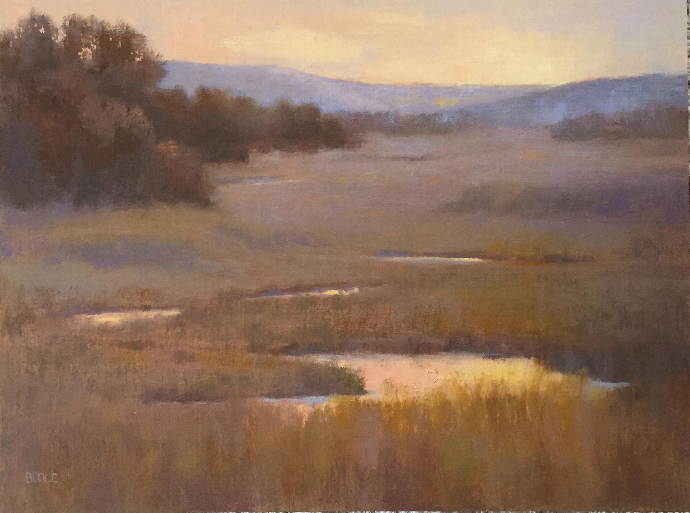 Sacred Sunrise | Oil on Linen Panel | 18 x 24 | © Beth Cole