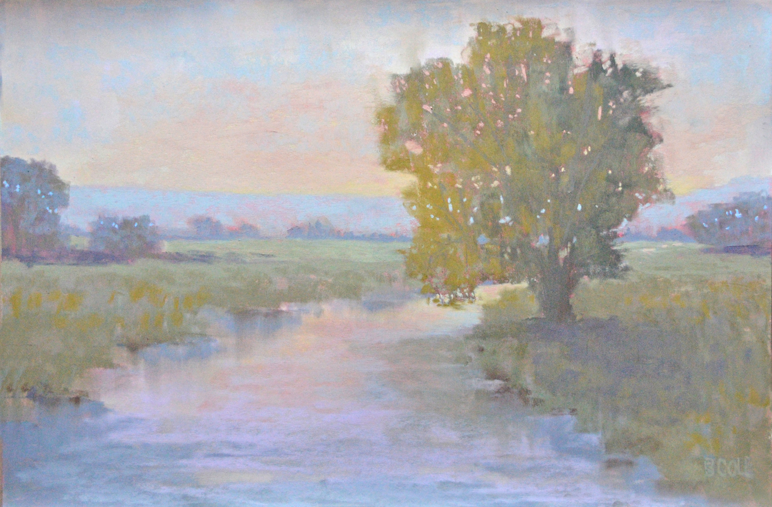 To A Faraway Land | Pastel on Paper | 18 x 24 | © Beth Cole