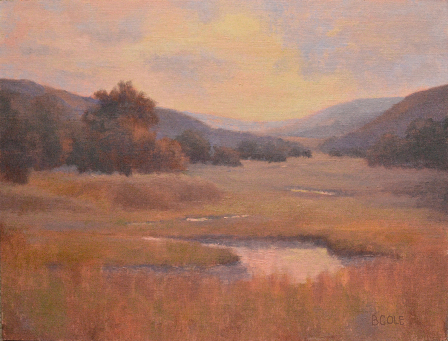 Meandering | 18 x 24 | Oil on Linen Panel | © Beth Cole