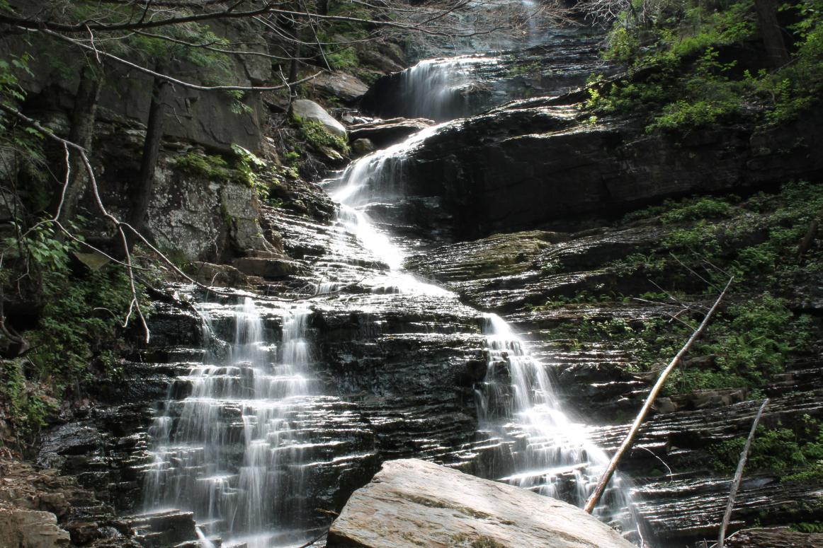 Lye Brook Waterfall
