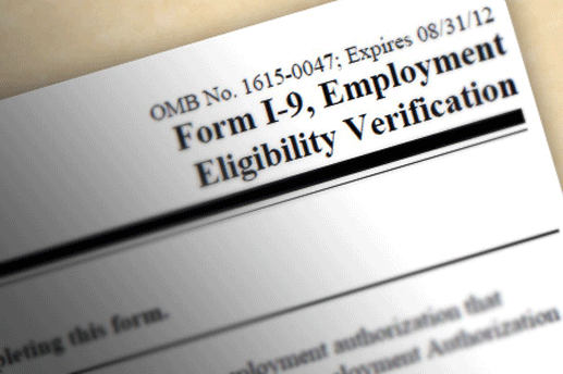 Federal I-9   Form I-9 is used for verifying the identity and employment authorization of individuals hired for employment in the United States. All U.S. employers must ensure proper completion of Form I-9 for each individual they hire for employment in the United States. This includes citizens and noncitizens.