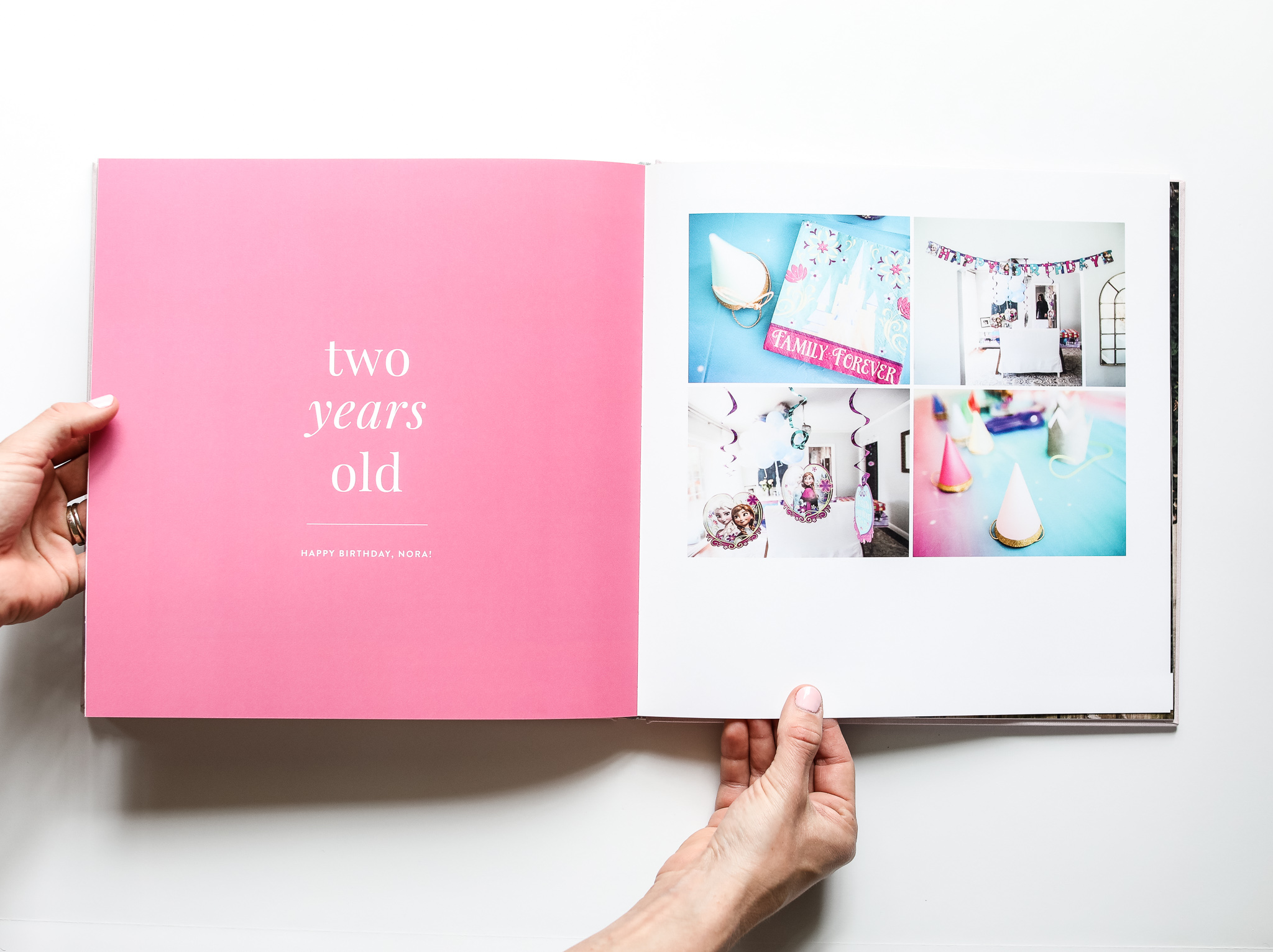 Modern Baby Book by Catherine Saunders | All The Best - custom photo books, video, editing