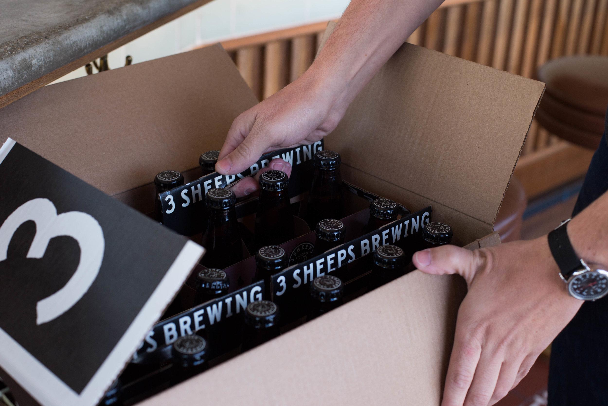 3 Sheeps Craft Beer Design