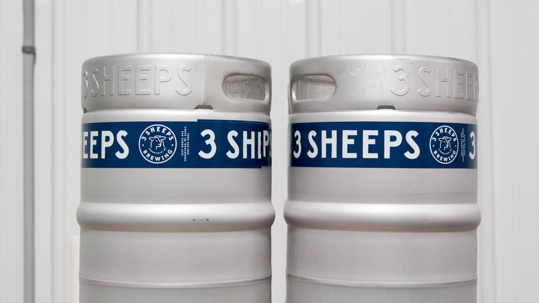 3 Sheeps Keg Design