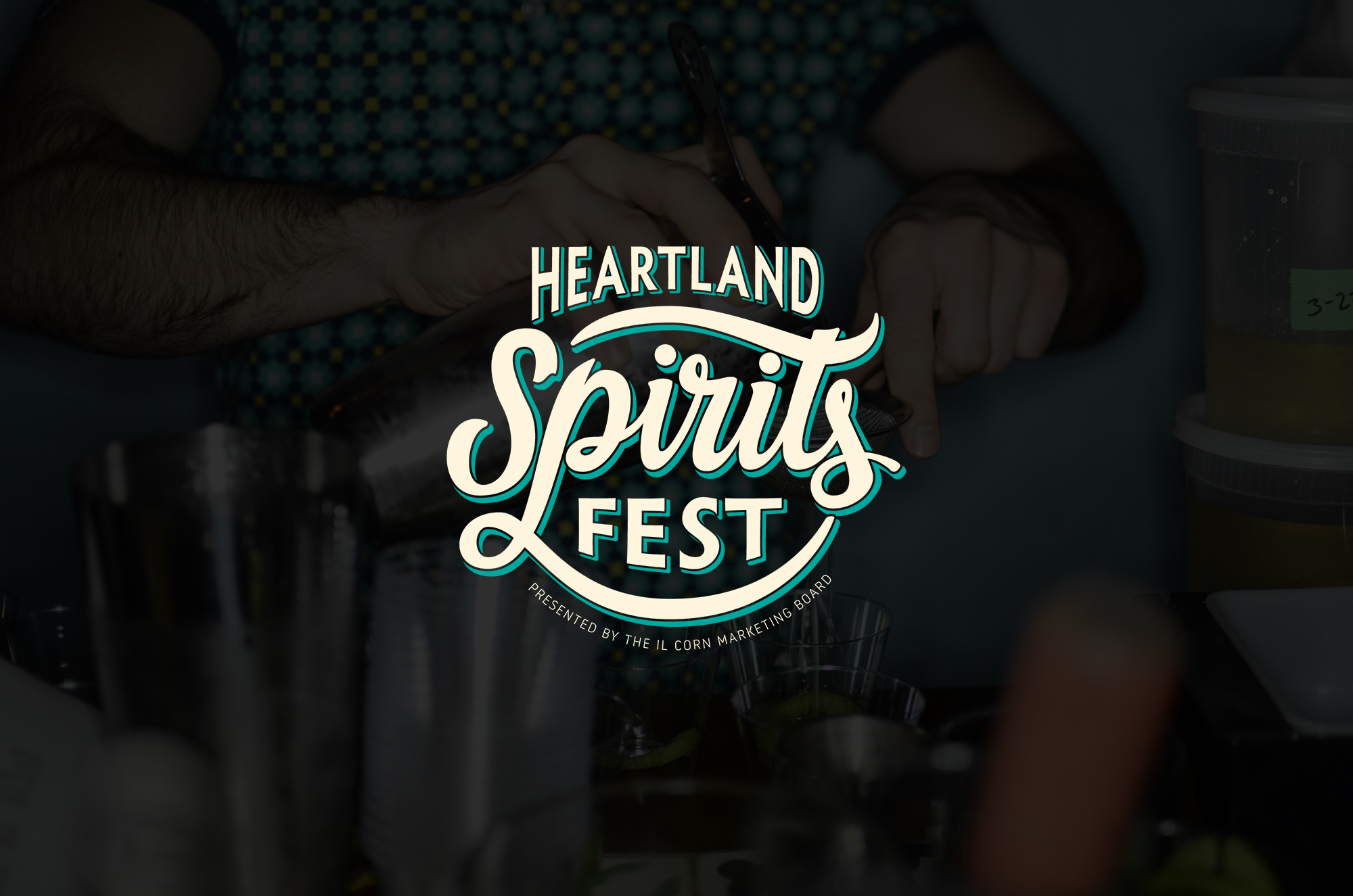 Heartland Spirits Fest Cocktail Logo