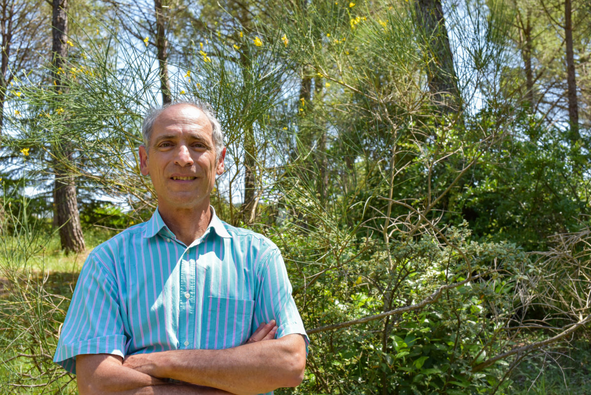 Michel Vennetier is a forestry engineer based in Aix-en-Provence, France. Photo: Sarah Lawrynuik