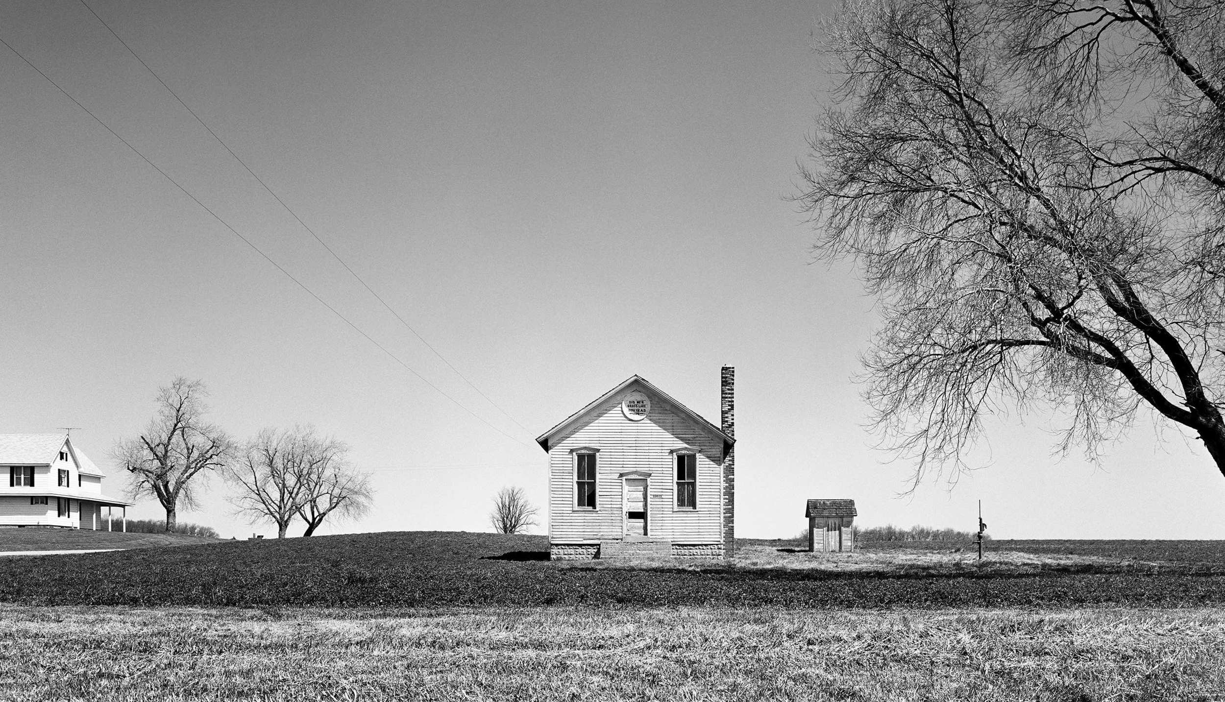 School House 1878 (Grass Lake, MI) 1976