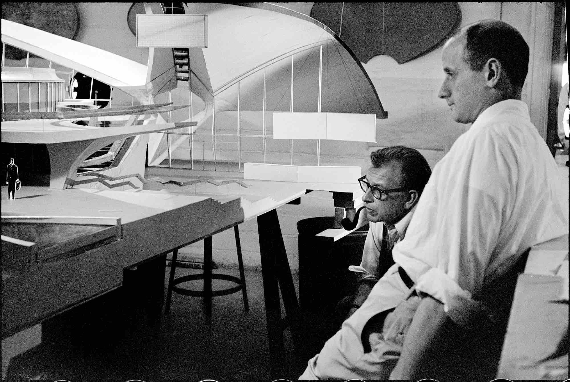 Eero Saarinen, Trans World Airlines Flight Center (Queens, NY) 1962