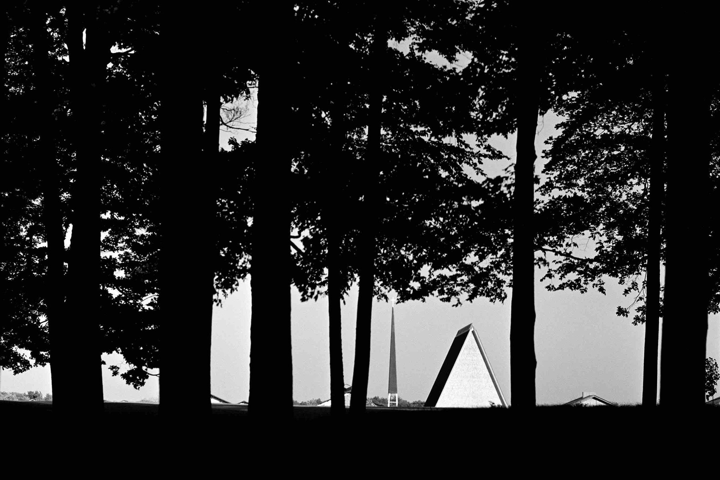 Eero Saarinen, Concordia Theological Seminary (Fort Wayne, Indiana)  1976