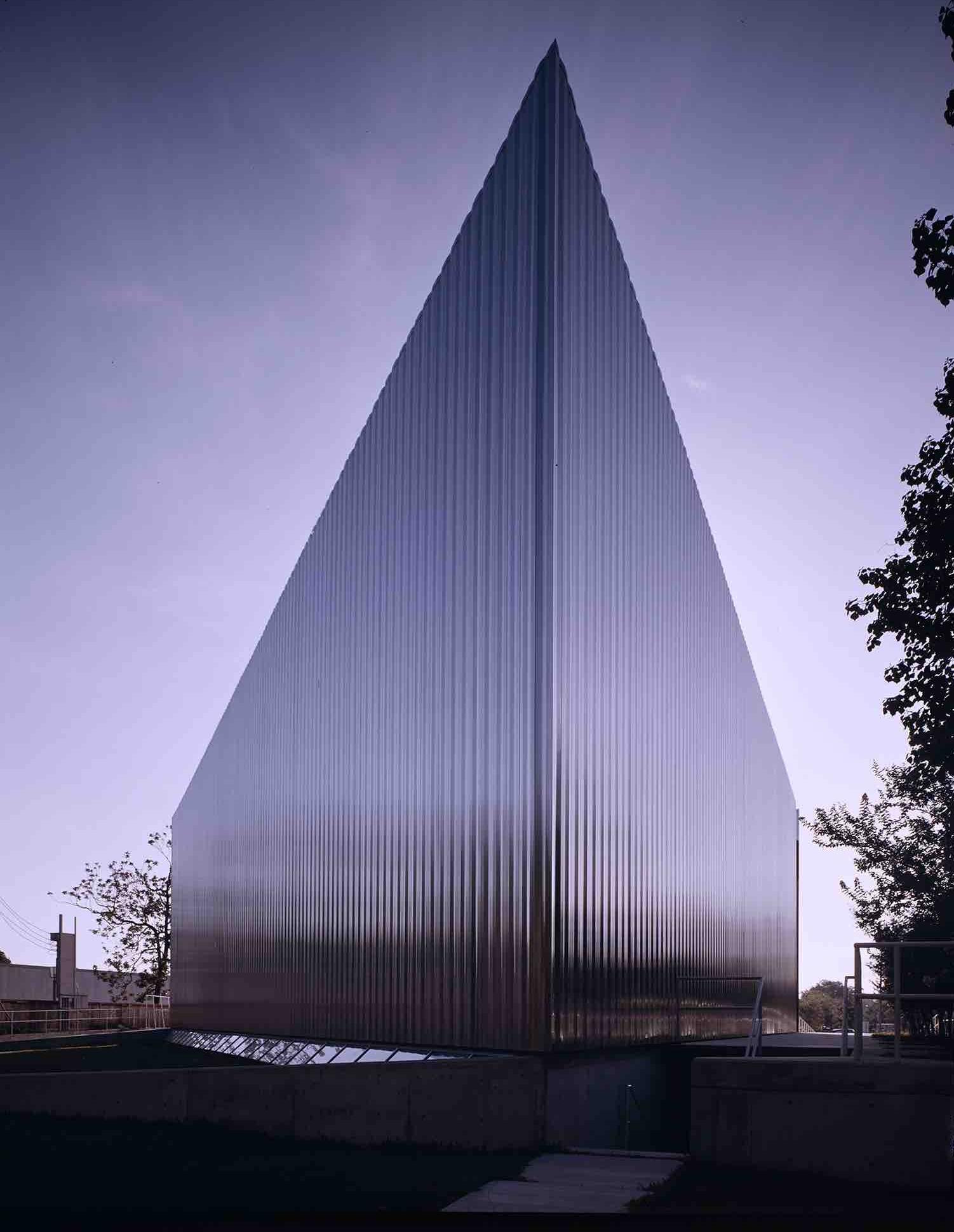 Gunnar Birkerts, Contemporary Art Museum (Houston, TX) 1970.