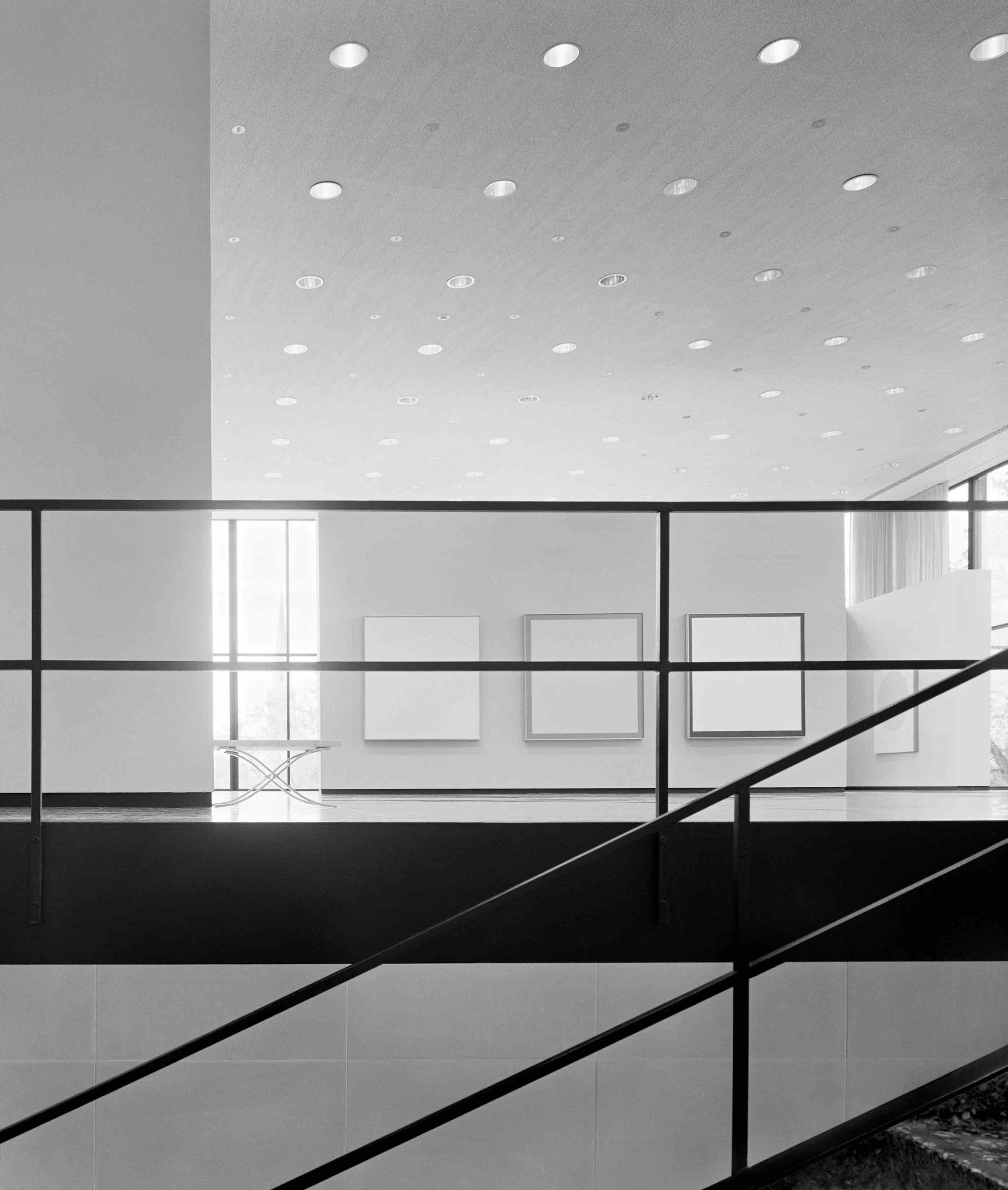 Ludwig Mies van der Rohe, Museum of Fine Arts,Houston, Cullinan Hall (Houston, TX) 1958