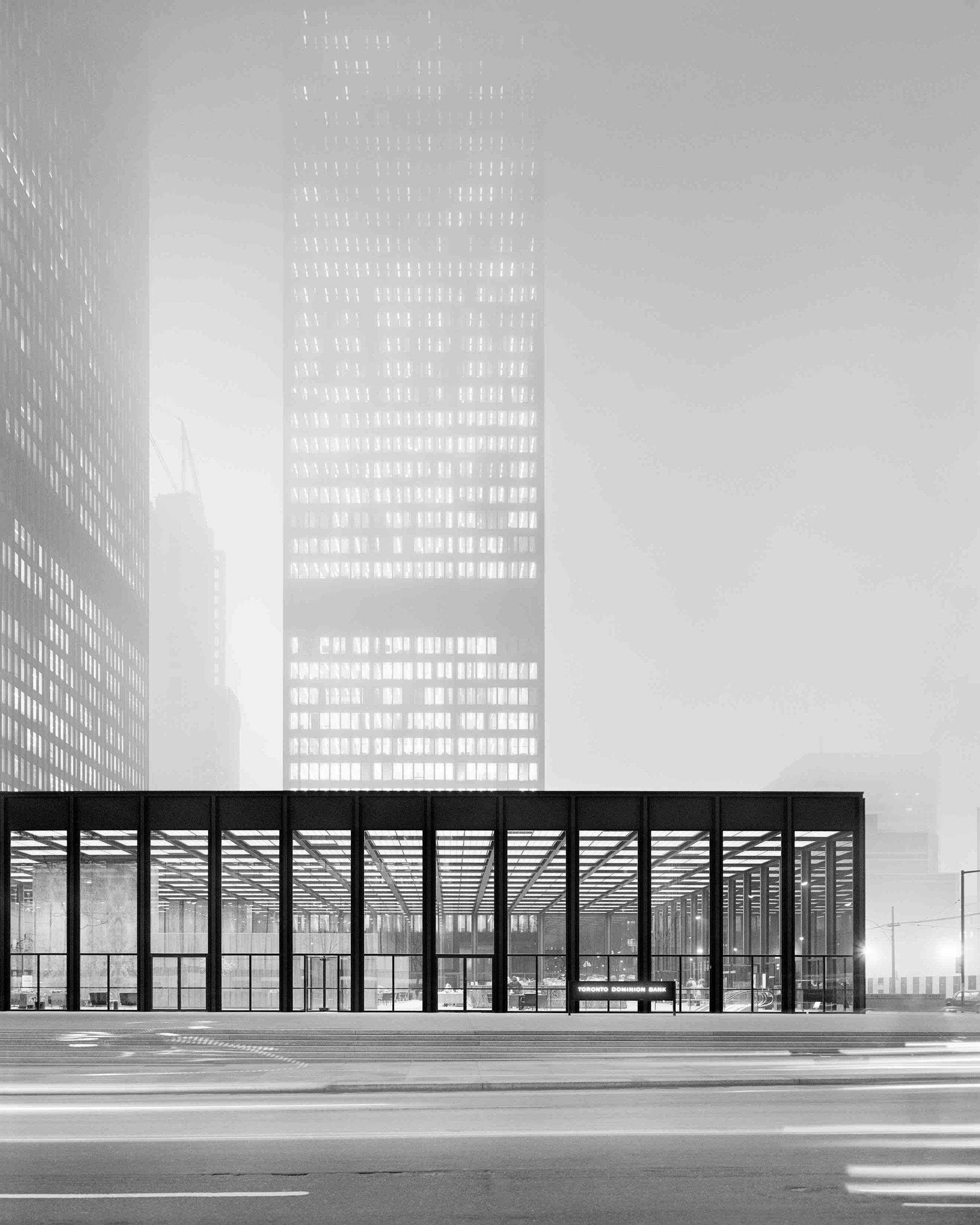 Ludwig Mies van der Rohe, Toronto-Dominion Centre (Toronto, Canada) 1969