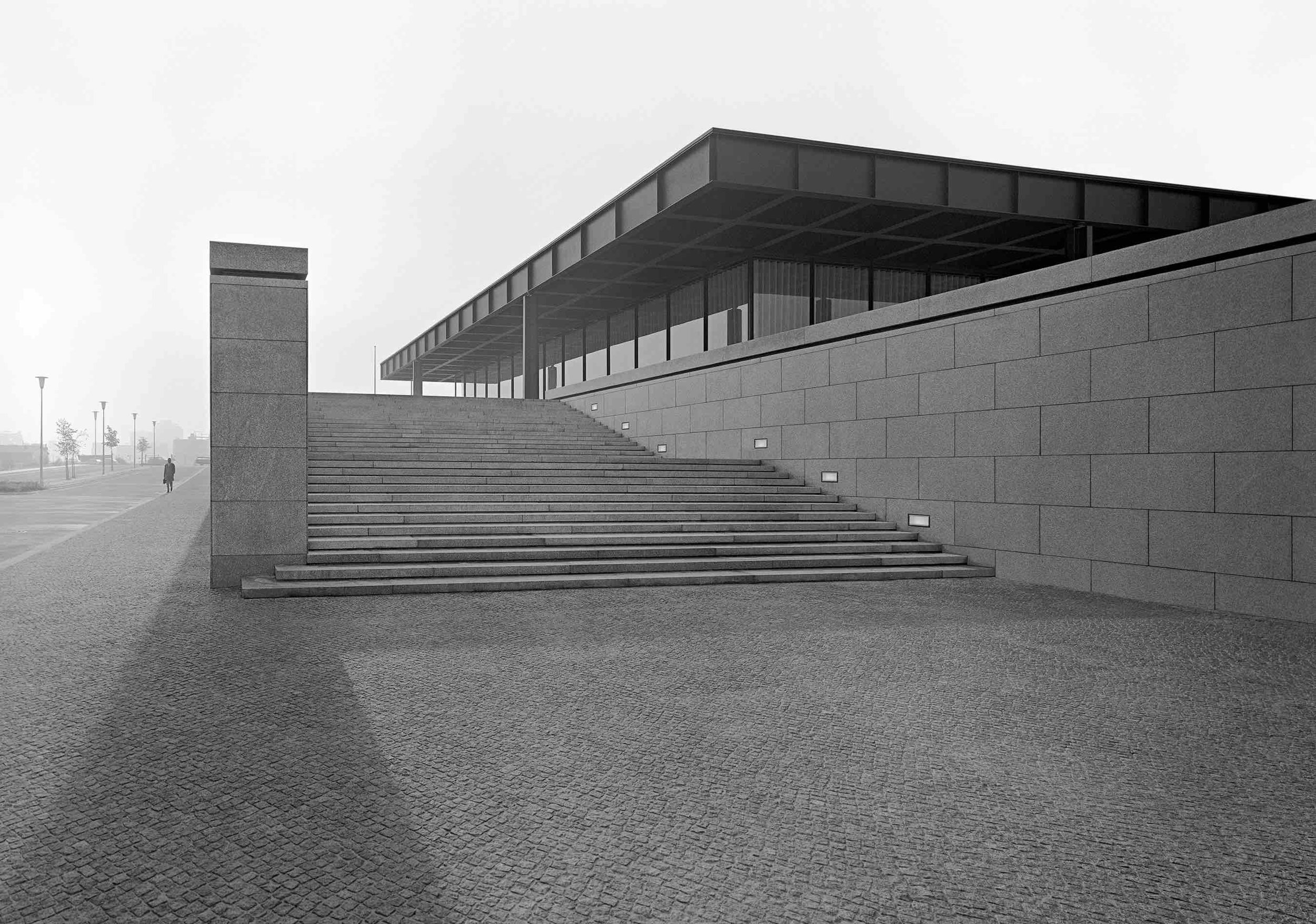 Ludwig Mies van der Rohe, Neue Nationalgalerie (Berlin, Germany) 1968