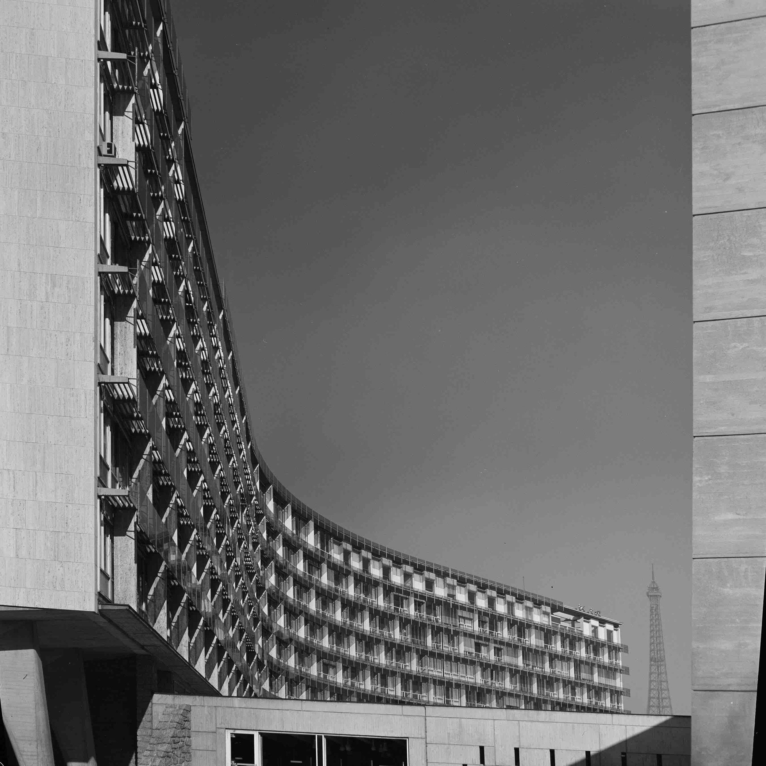 Marcel Breuer, Unesco HQ (Paris, France) 1958