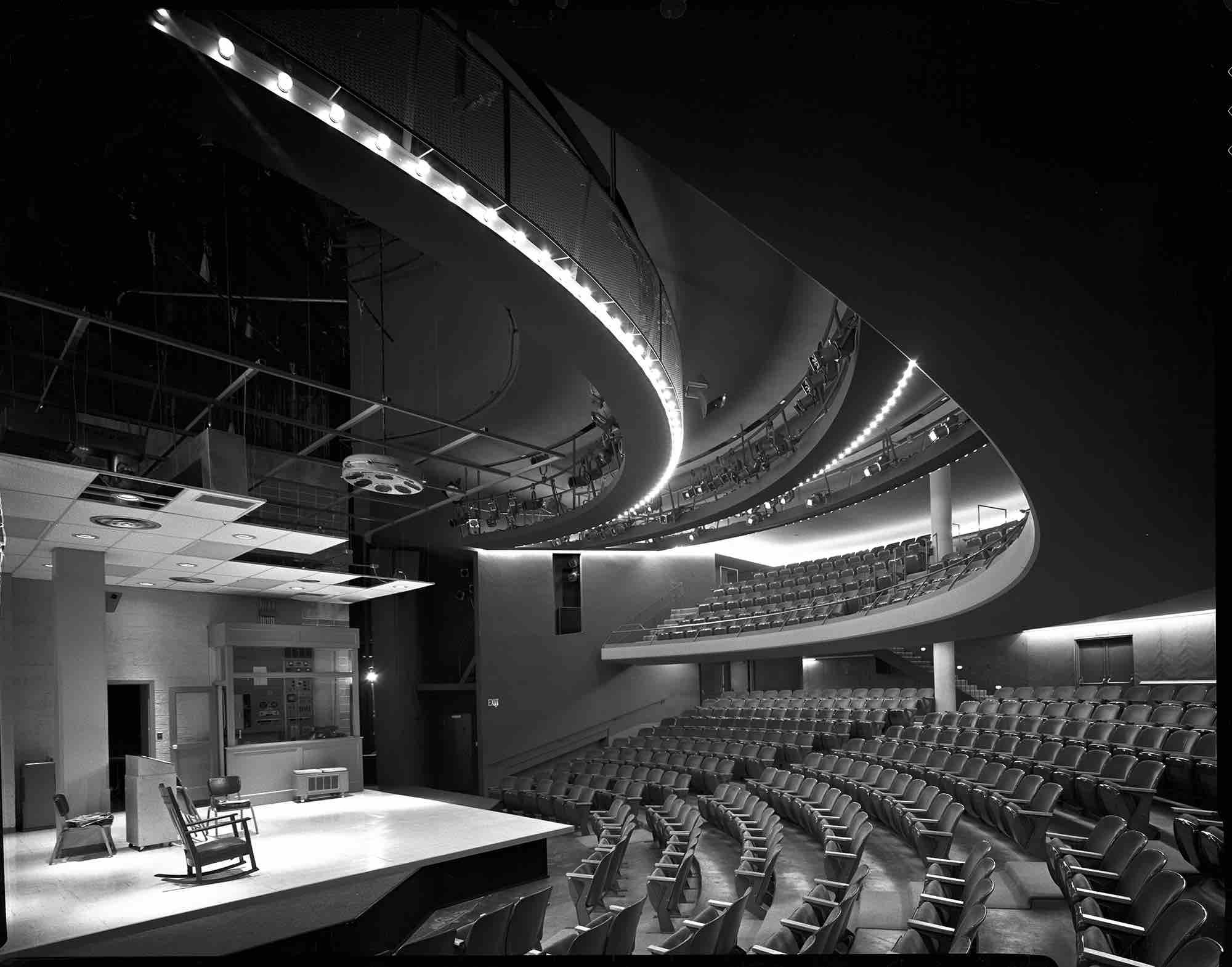 Harry Weese, Center for the Performing Arts (Milwaukee, WI) 1969