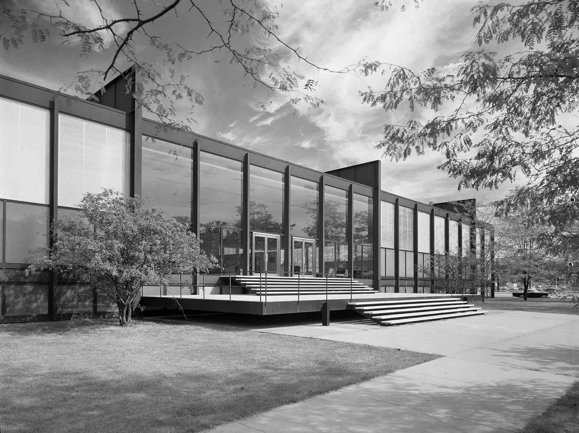 Ludwig Mies van der Rohe, Illinois Institute of Technology (Chicago, IL) c. 1956