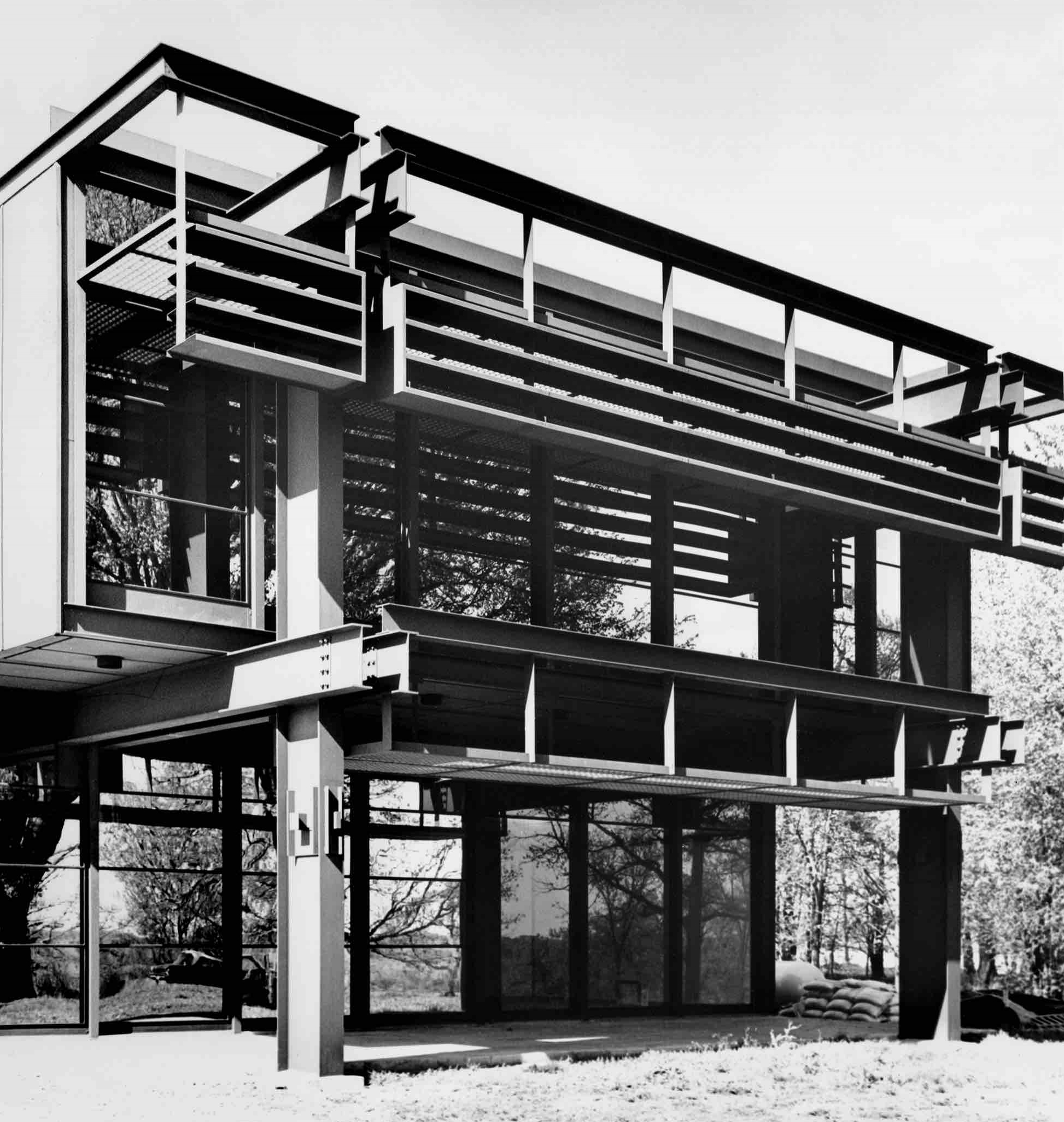 Eero Saarinen, John Deere World HQ (Moline, IL) 1964