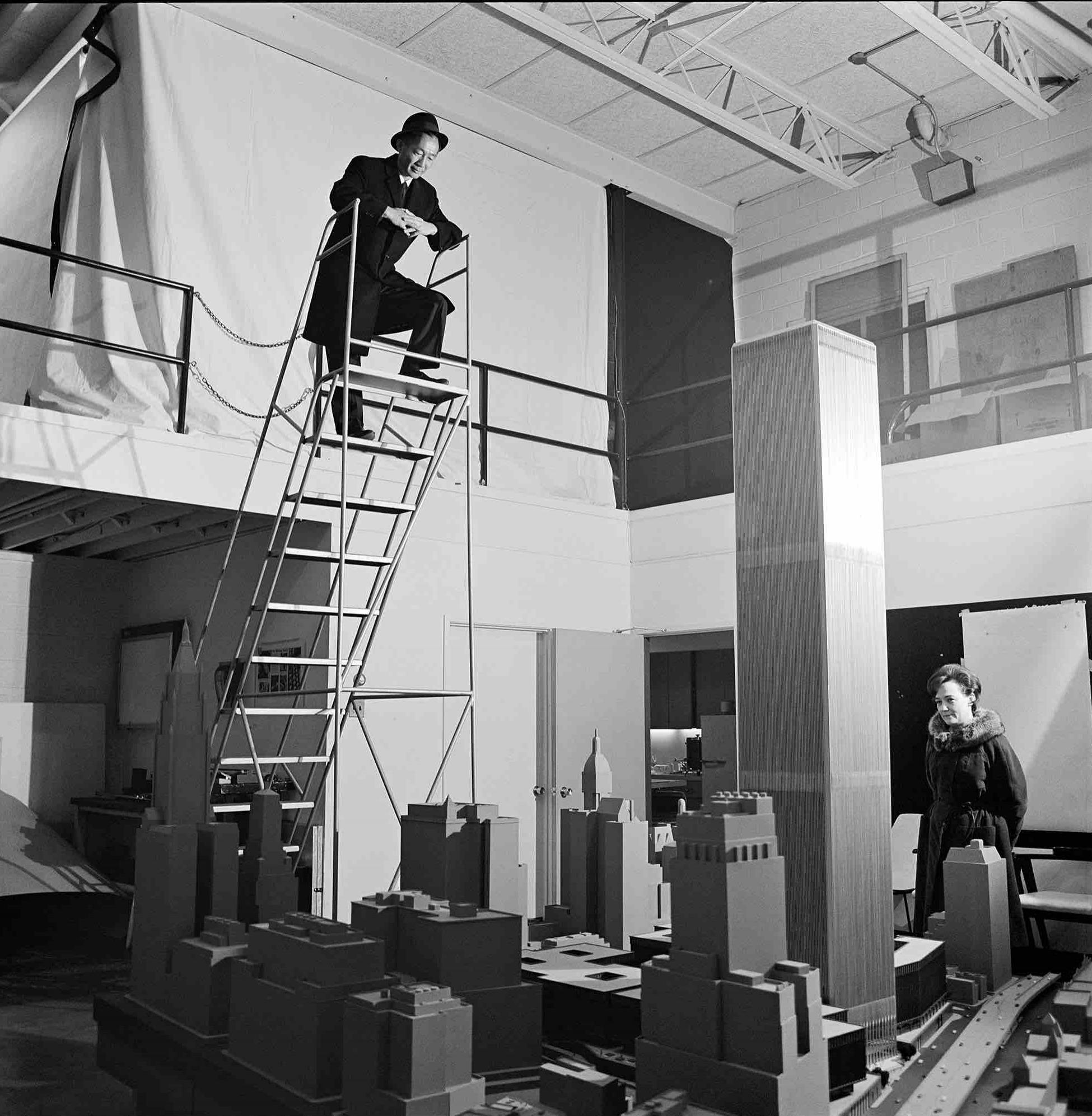 Minoru Yamasaki, World Trade Towers (New York, NY) 1973