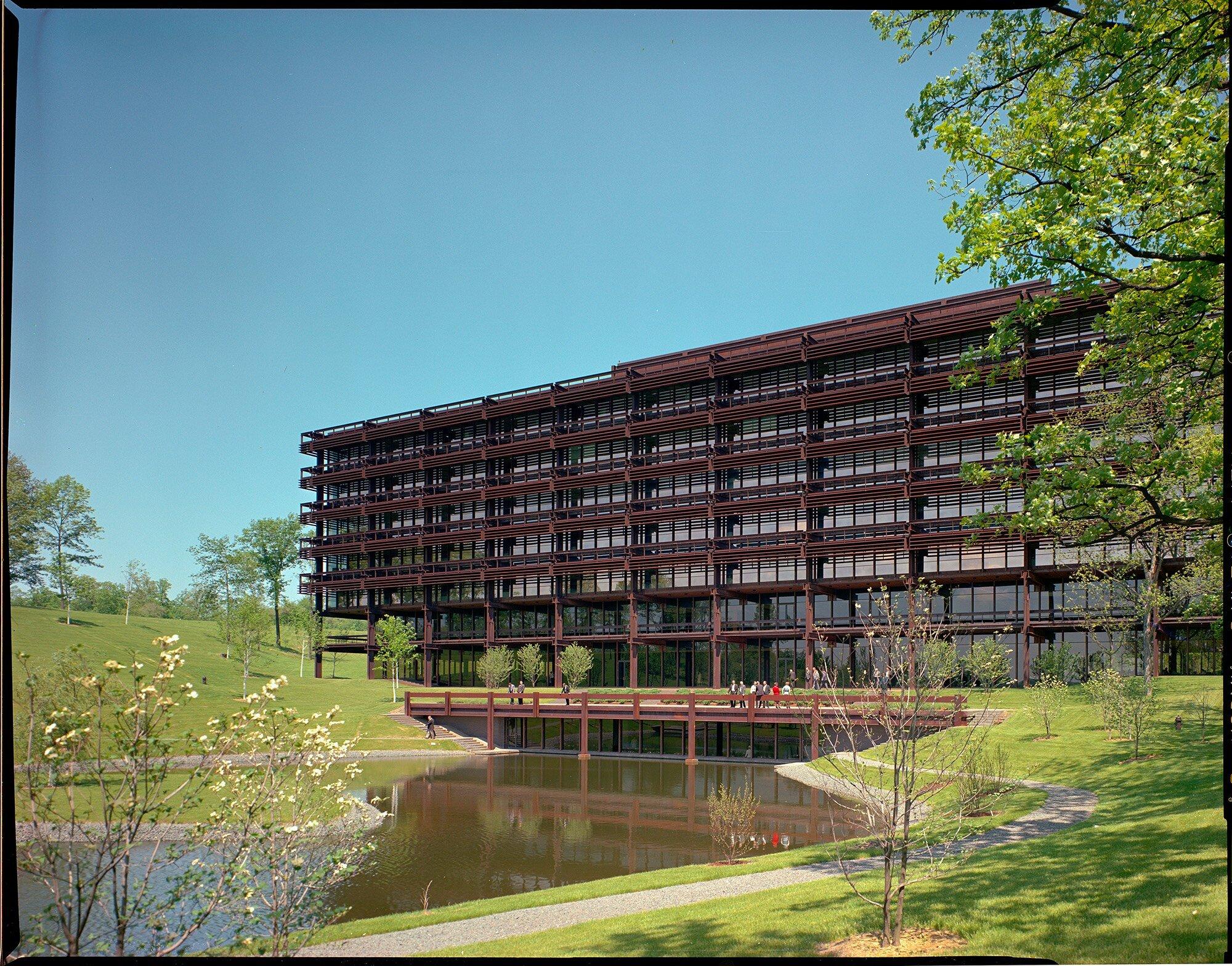 John Deer World HQ, Moline, IL, c 1965