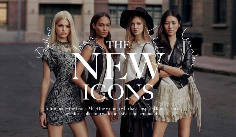 H&M:The New Icons