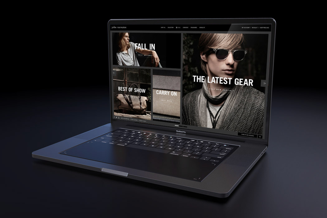 JOHN VARVATOS - WEBSITE