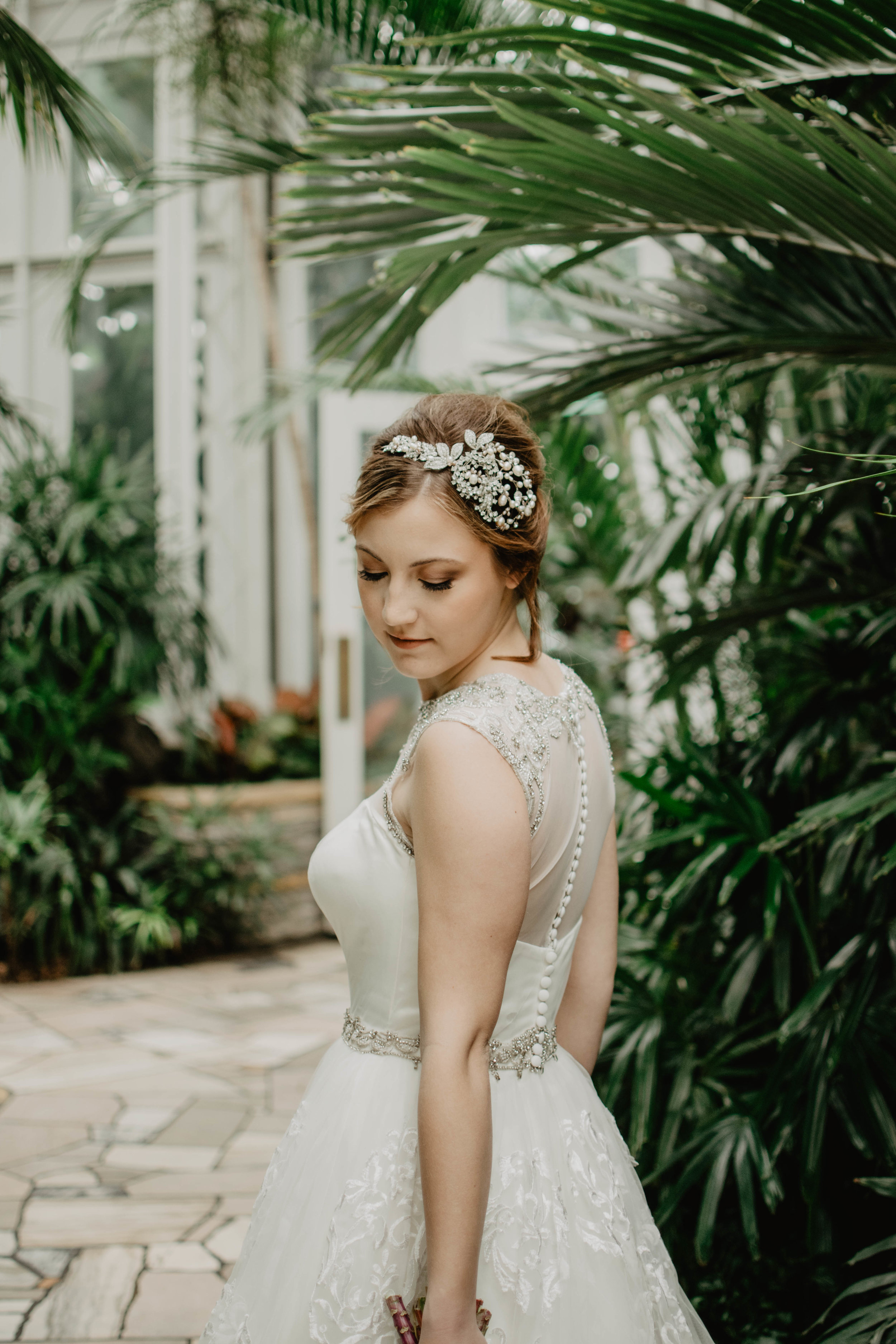 Brides - $110 + For Bridal Updo including Veil