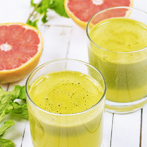 BYRDIE:  News Flash: Juicing and Alcohol Have the Same Effect on Your Body