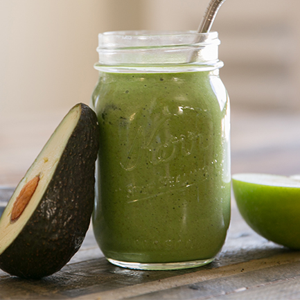INSPIRED BY THIS:  Green Smoothie Recipe