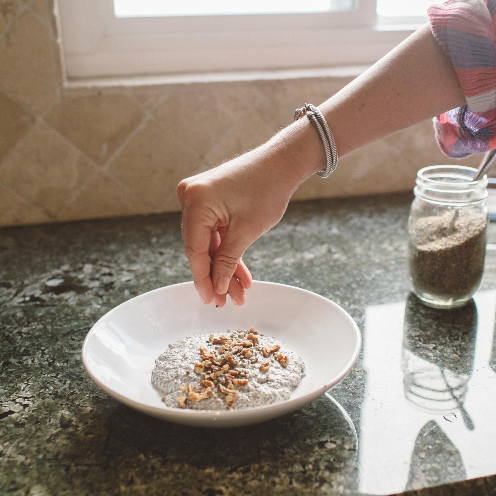 NUUDE:  Chia Porridge Recipe