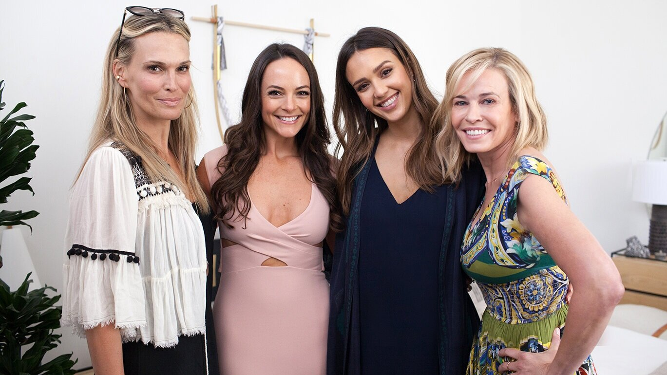 Kelly and some of her A-list clients, celebrating the launch of her first book,  Body Love .