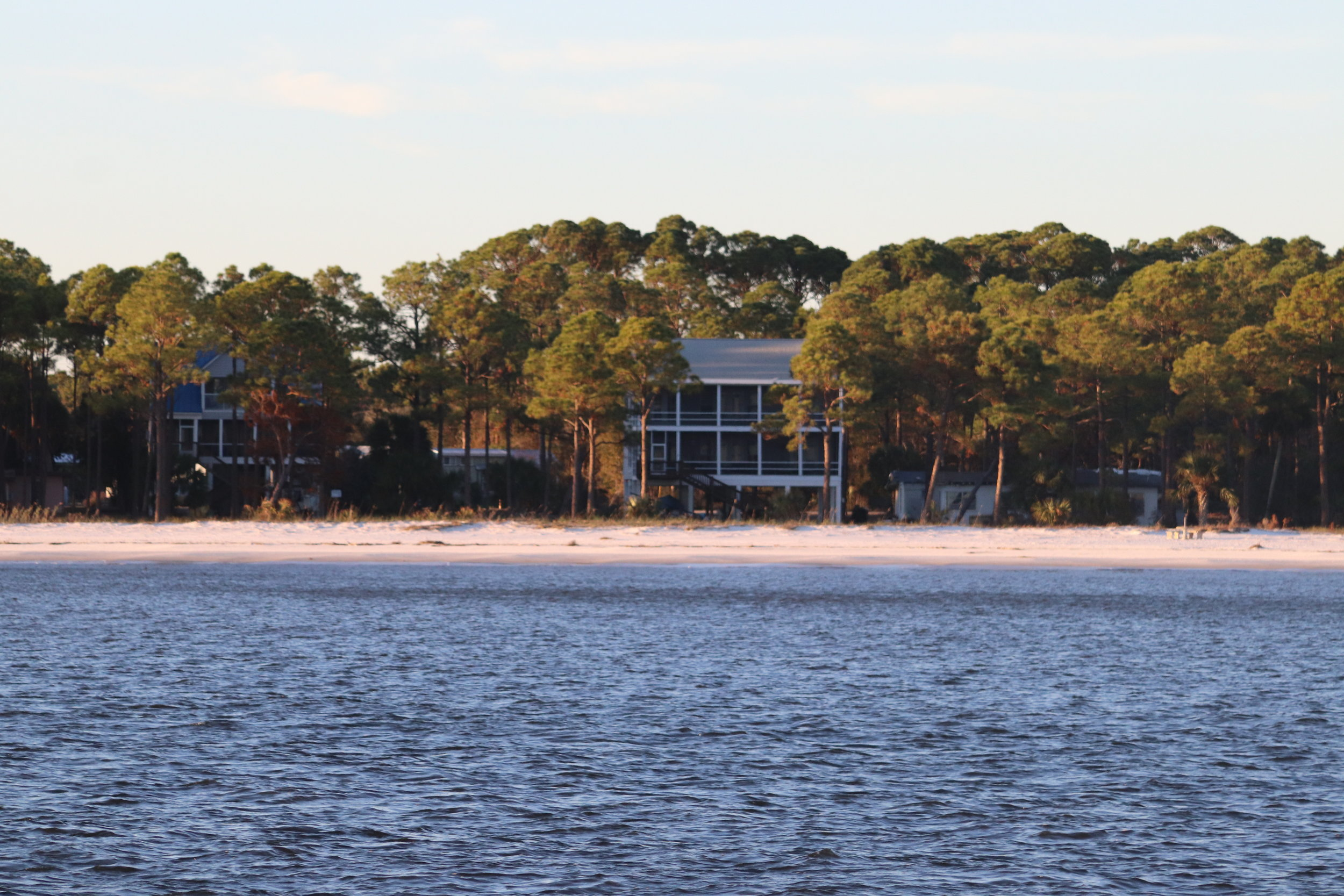 Early morning at Carrabelle Beach