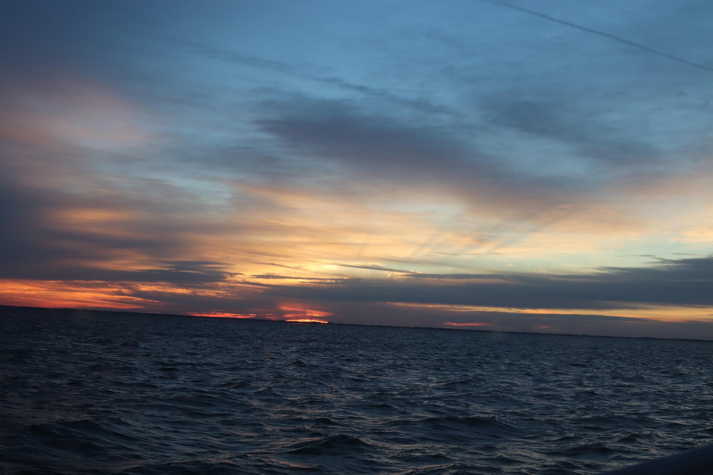 Stunning; also the start of a long dark night