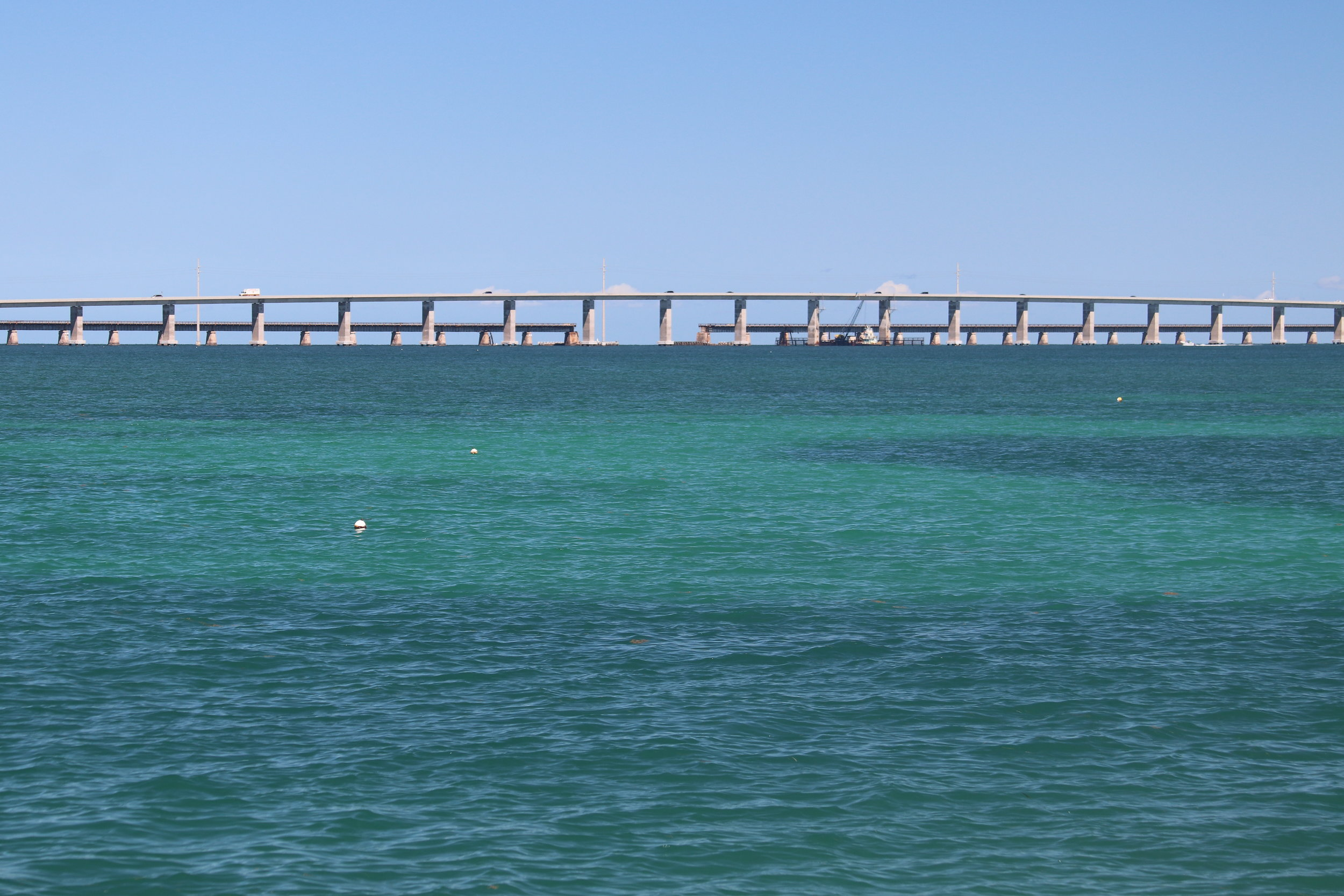 Seven-Mile Bridge (between Key West and Marathon)