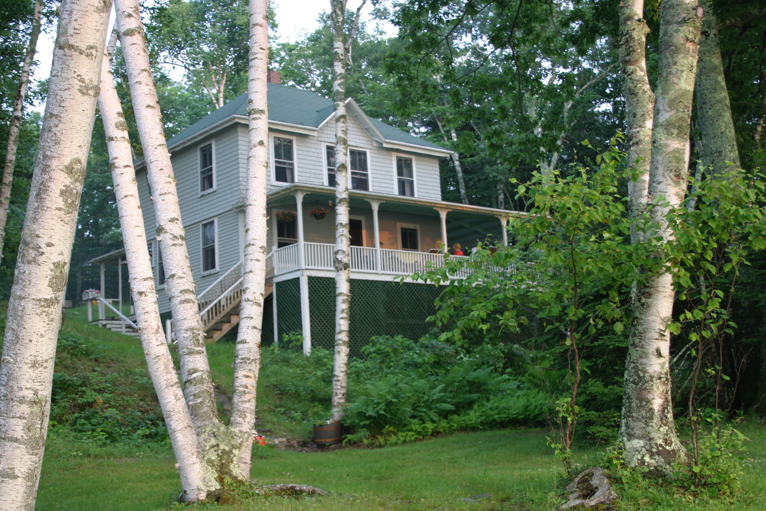 Birch Island cottage, Casco Bay, Maine