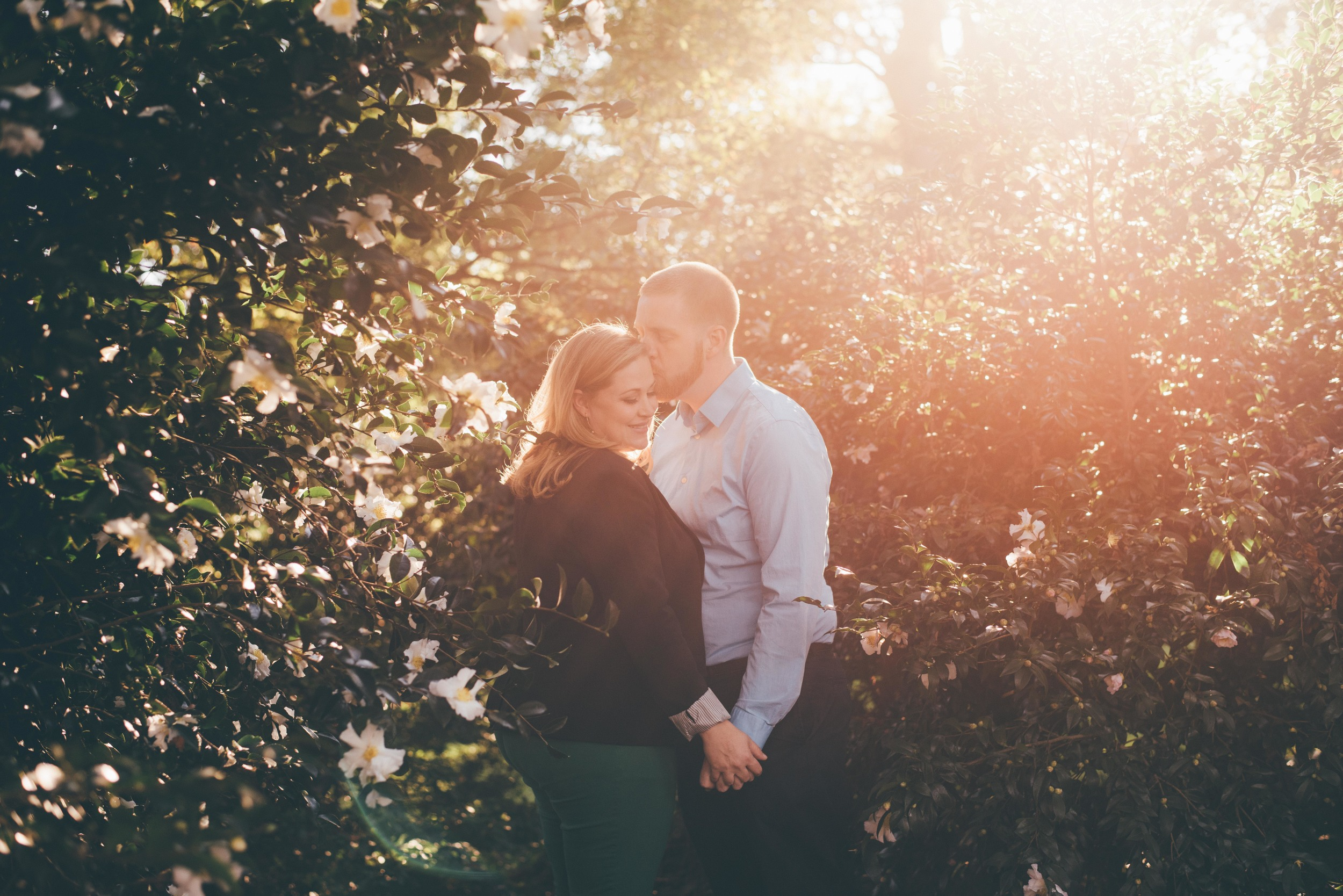 Megan and David celebrate their love during their Fall engagement session. The two are to get married on March 12th, 2016. Photography by Griffin Hart Davis, LLC