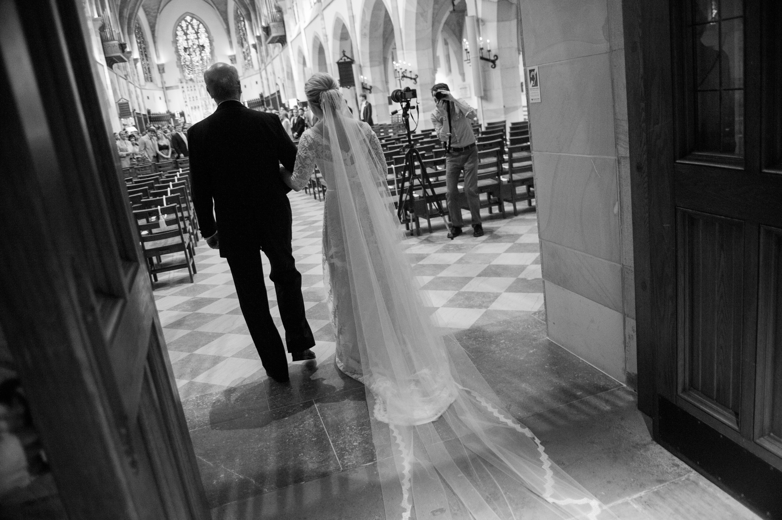 May 17th, 2014 - Sarah & Will are joined by Family and Friends during the union of their marriage in Sewanee  Tennessee at the All Saints' Chapel. Photography by Griffin Hart Davis of exumphoto.