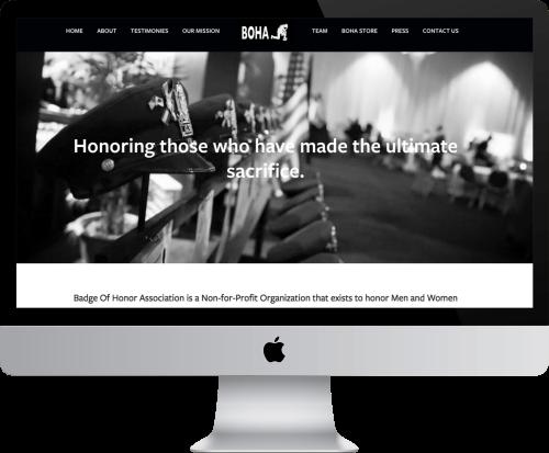 BOHA Website Example