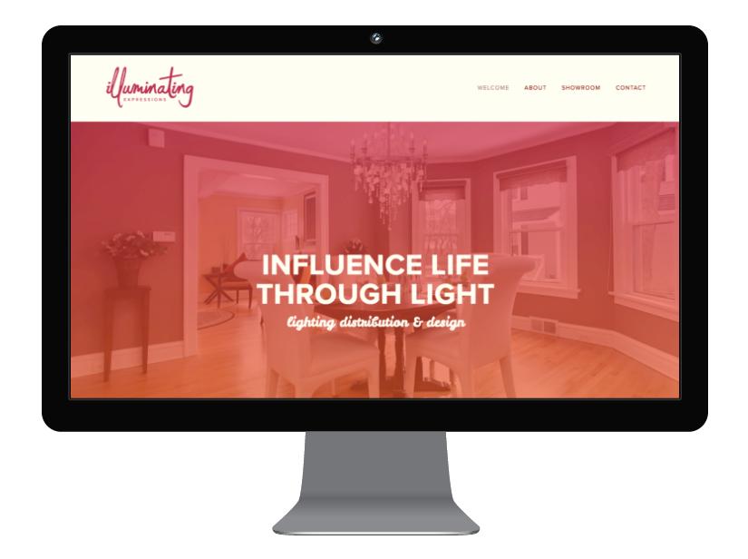 Illuminating Expressions Website Design