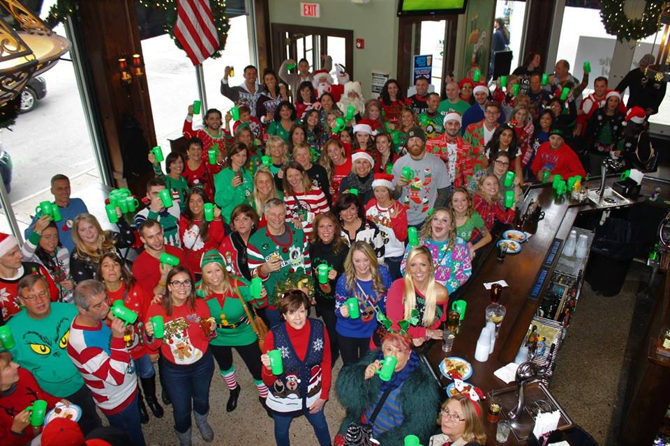 2016 picture of group at the kringle krawl
