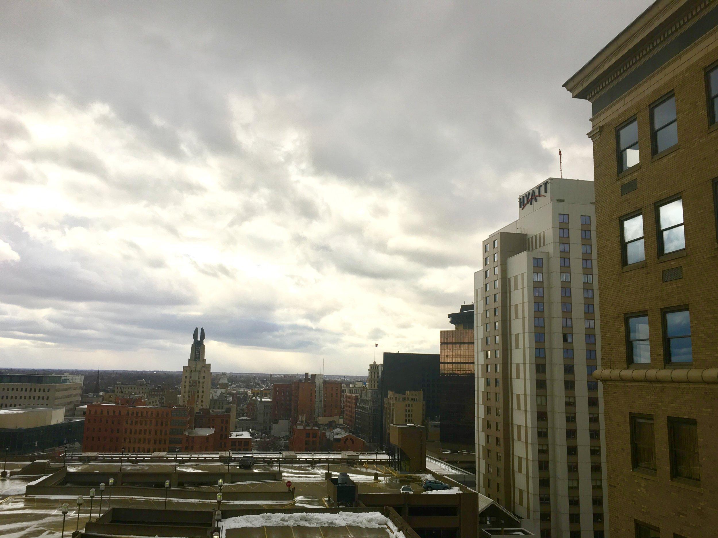 City of Rochester skyline