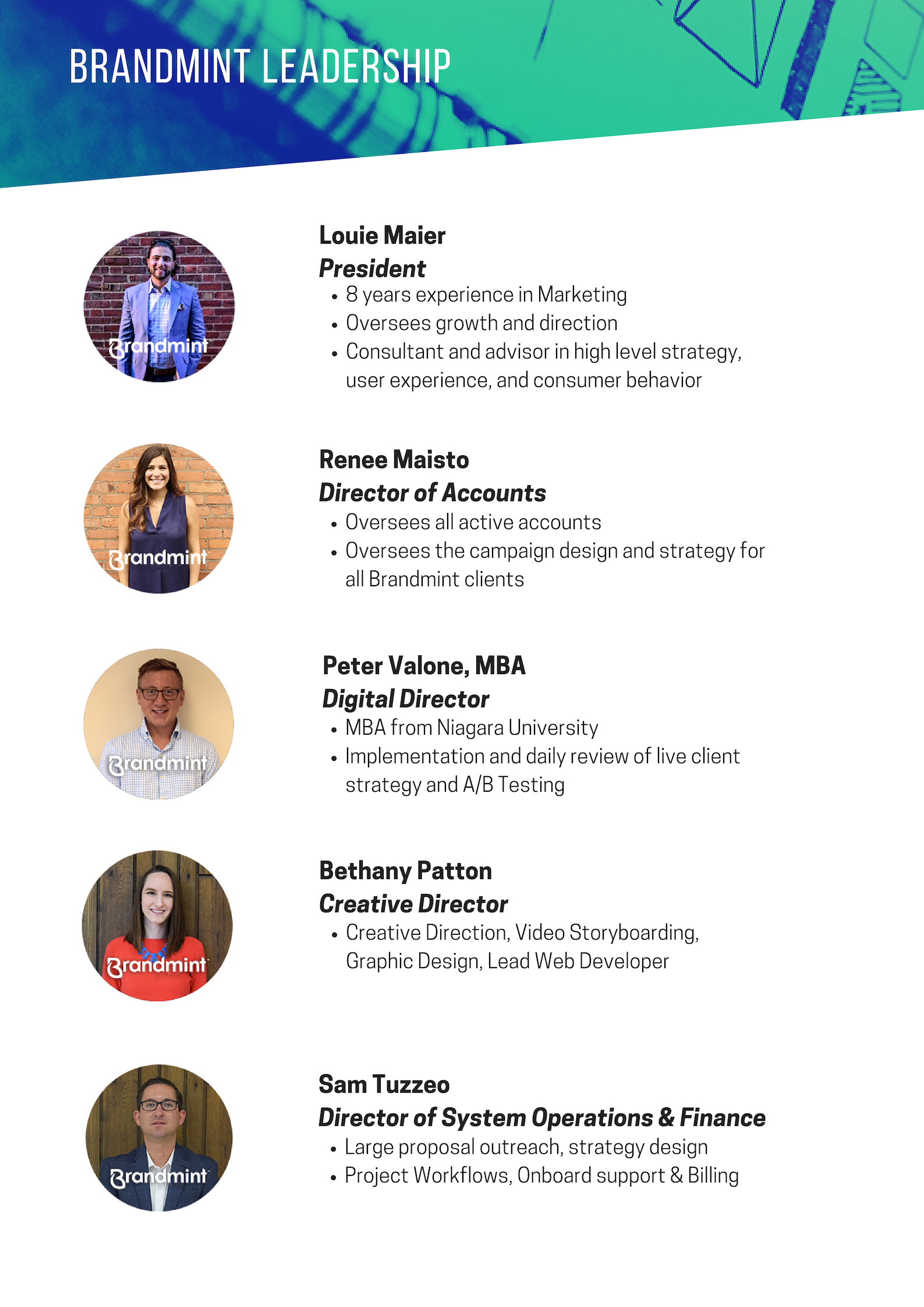 Meet the team - Leadership