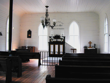 St. John church interior
