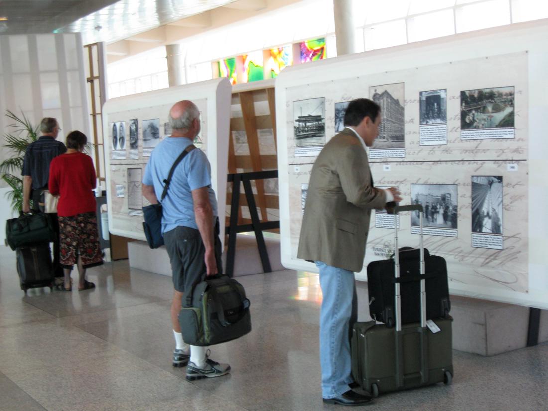 Houston HIstory Timeline exhibition
