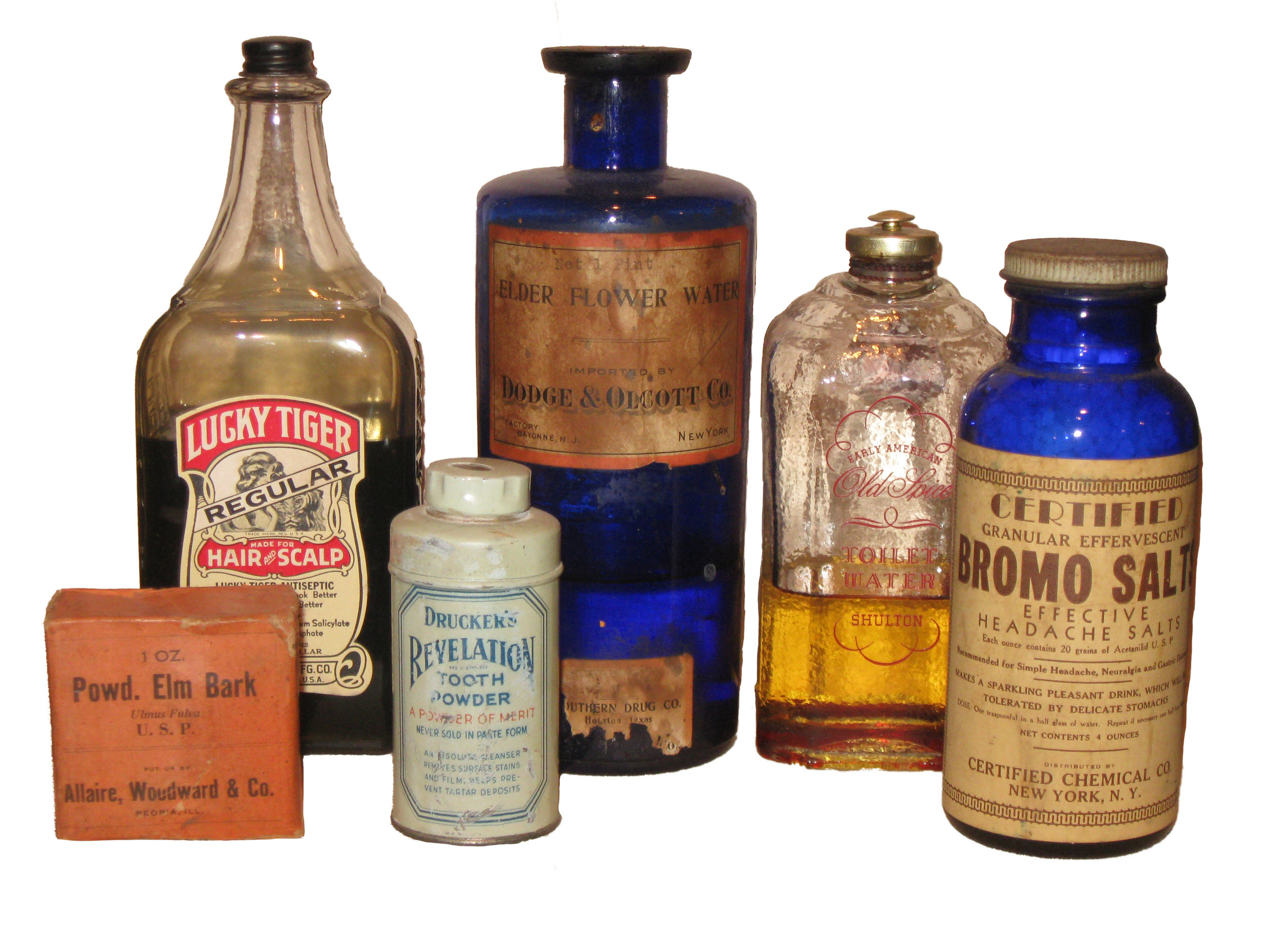 Medicine from Askew pharmacy,  The Heritage Society Permanent Collection