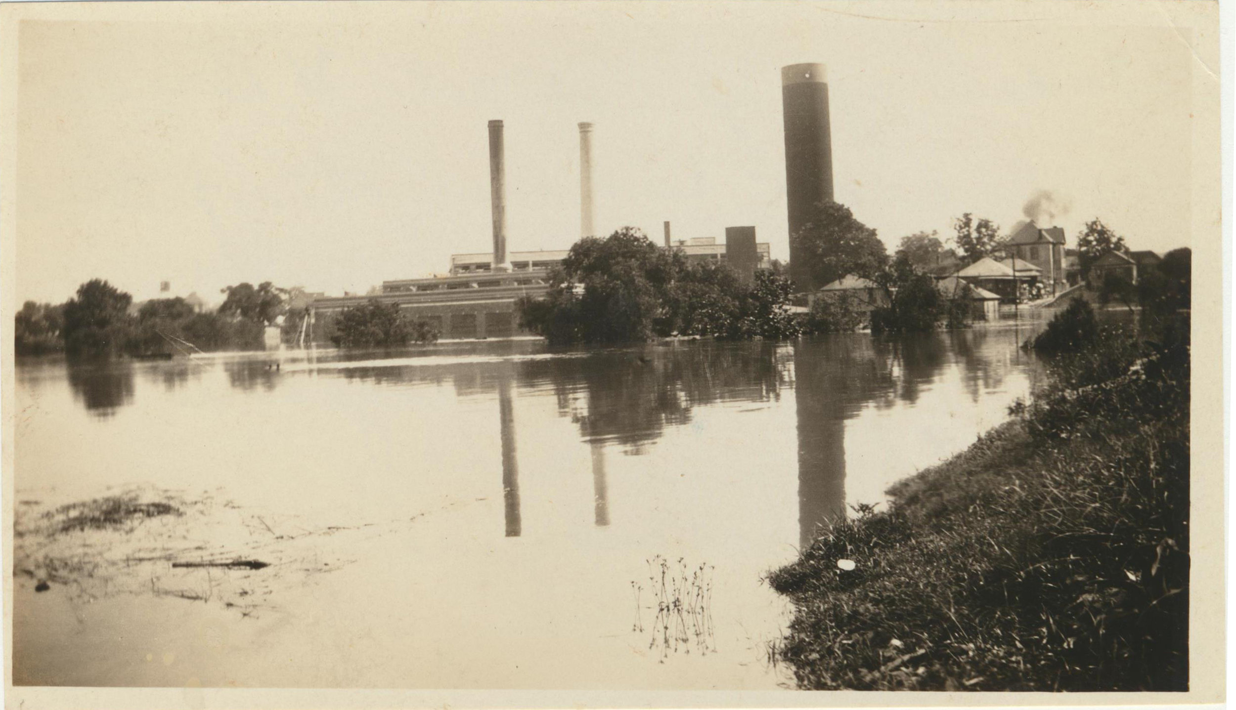 May 31, 1929-Photo taken from the Capitol Street Bridge.