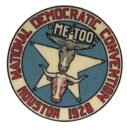 Convention Button,  Heritage Society Permanent Collection