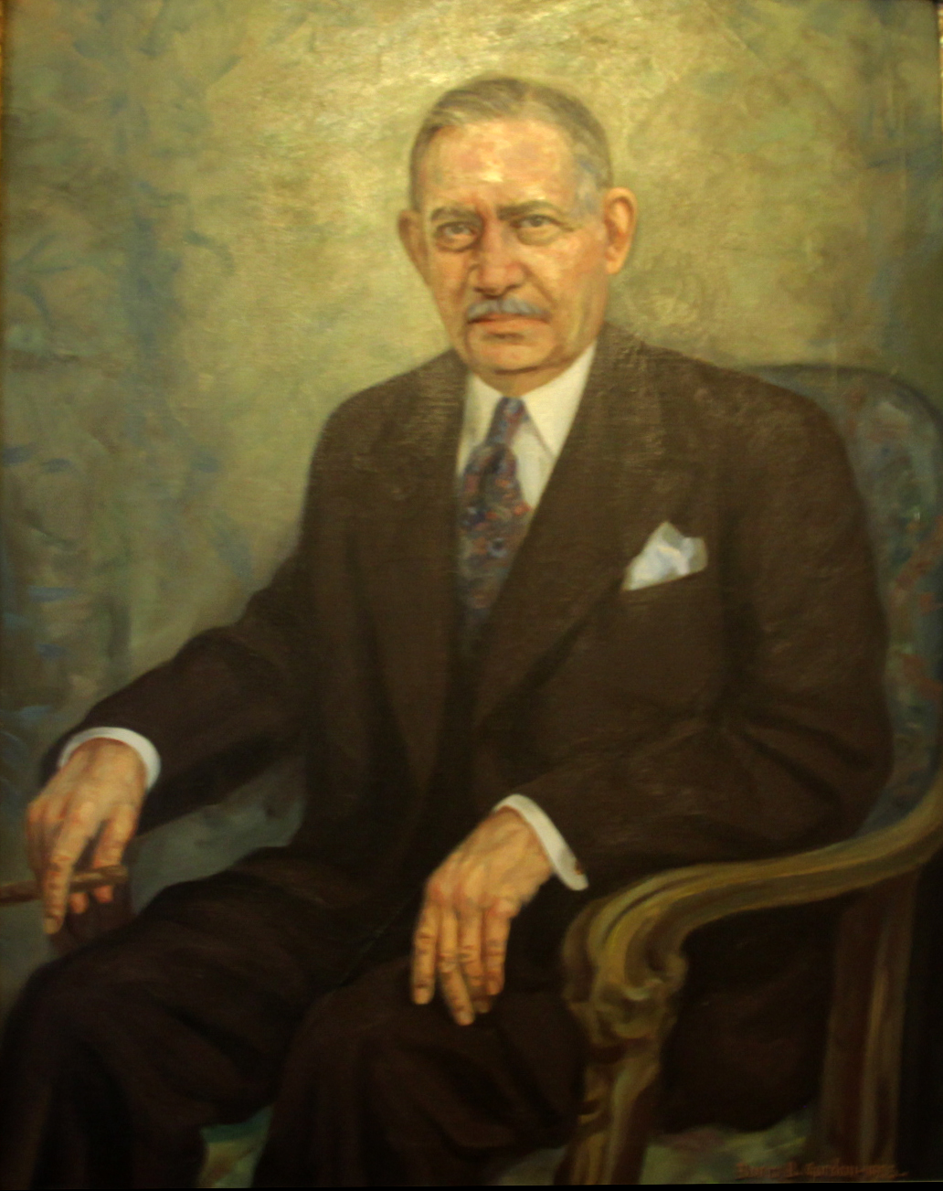 Portrait of Philip Battelstein. Permanent Collection of The Heritage Society.Gift of Mrs. Ben Battelstein.