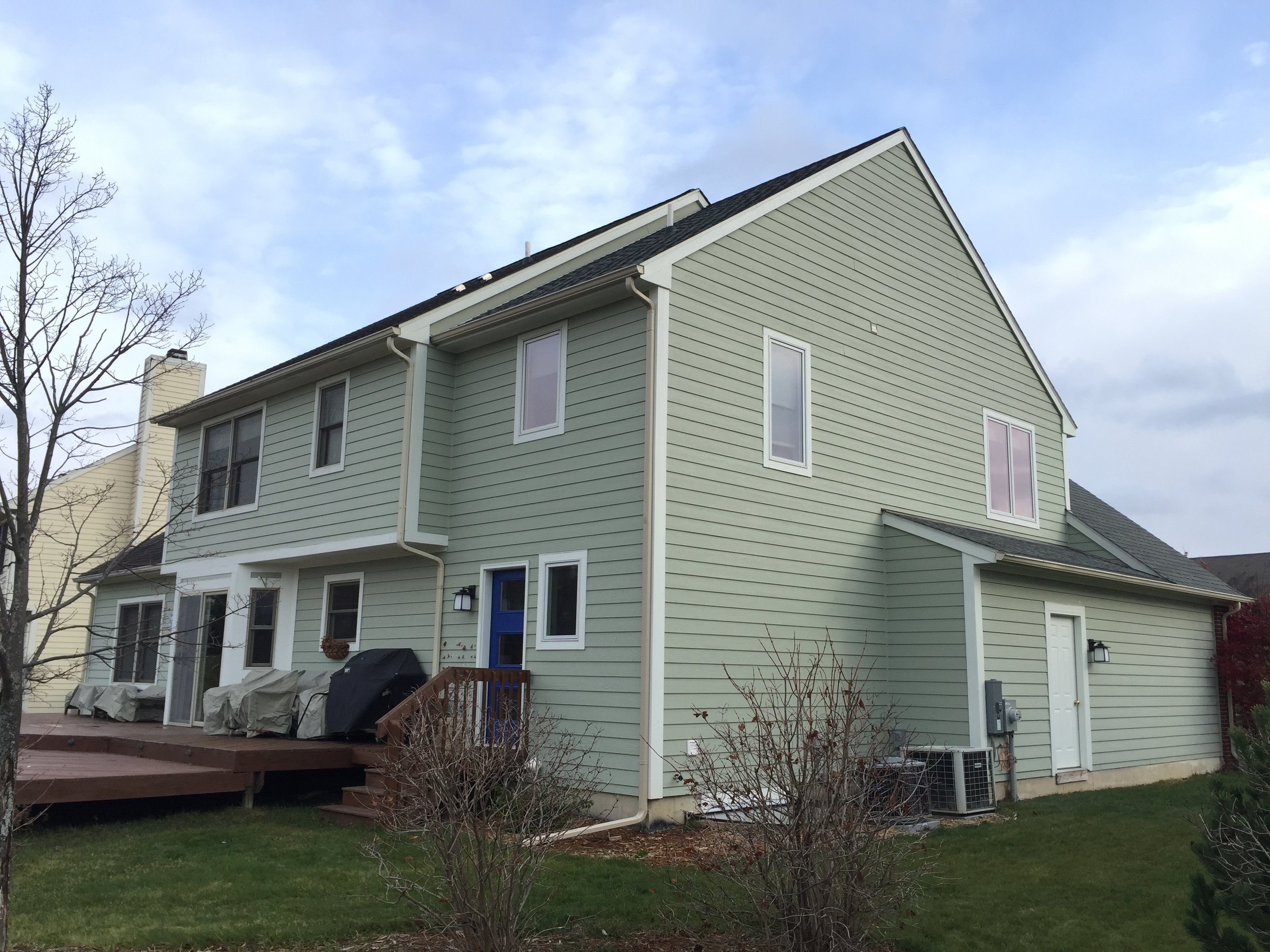 2 Story Home Addition: Lake Forest