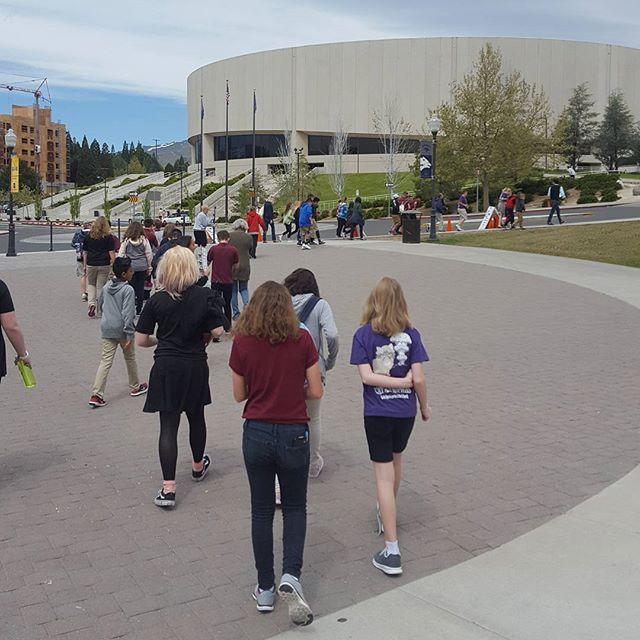Dream Big movie - UNR campus tour