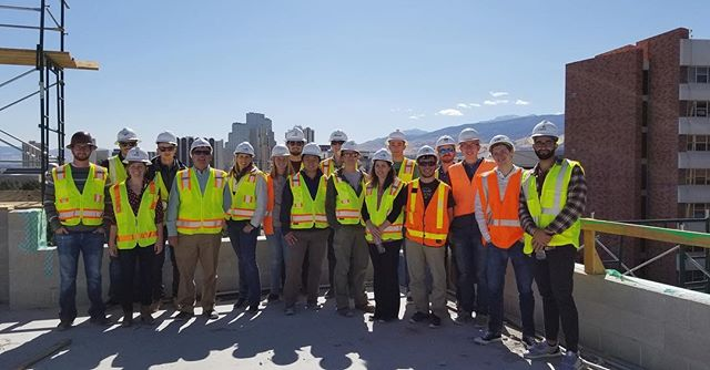 Thank you to everyone who attended our Great Basin Hall Technical Tour today!